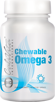 Chewable Omega 3 lemon flavour